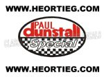 Paul Dunstall Special Tank and Fairing Transfer Decal DDUN4-1